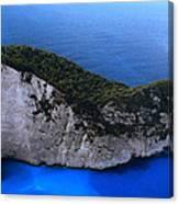Zakynthos  Crocodile Island Greece Canvas Print