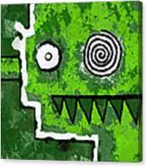 Zeeko - Green Canvas Print