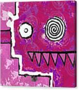 Zeeko - Pink Canvas Print