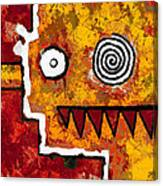 Zeeko - Red And Yellow Canvas Print