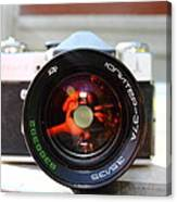 Zenit Photo Camera Canvas Print