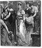 Zenobia (d. After 274 A.d.) Canvas Print