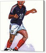Zinedine Zidane 01 Canvas Print