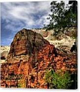Zion As Water Color Canvas Print