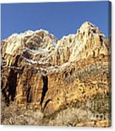 Zion Cliffs Canvas Print