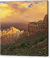 Zion National Park Sunrise II Canvas Print