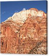 Zion Red Rock Canvas Print