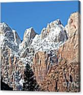 Zion Towers Canvas Print