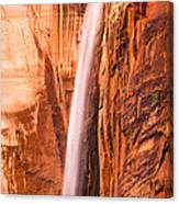 Zion Waterfall Canvas Print