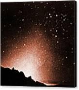 Zodiacal Light Canvas Print
