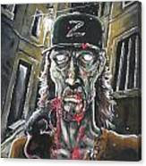 Zombie Tom Canvas Print