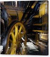 Zoom Rail Canvas Print