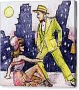 Zoot Suit Canvas Print