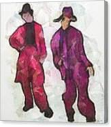 Zuit Suit Time  Canvas Print