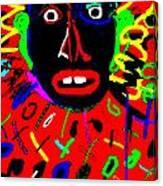 Zulu Red Canvas Print