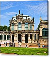 Zwinger Palace - Dresden Germany Canvas Print