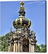 Zwinger Palace Crown Gate Canvas Print