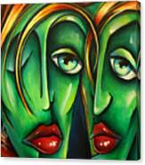 ' Twins ' Canvas Print