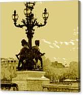 # 10 Paris France Canvas Print