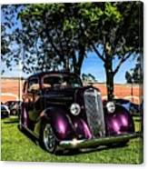 1939 Chevy Coupe Canvas Print