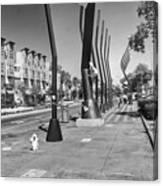 7th Street View Canvas Print