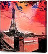 # 9 Paris France Canvas Print