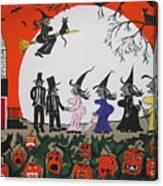 A Halloween Wedding Canvas Print