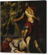 A Roman Execution Canvas Print