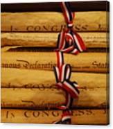American History Canvas Print