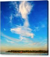 Angel  Walking On Air  Canvas Print