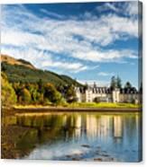 Ardgartan On The Banks Of Loch Long Canvas Print