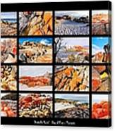 ' Australia Rocks ' - Bay Of Fires - Tasmania Canvas Print