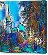Church Blue - My Www Vikinek-art.com Canvas Print