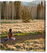 Contemplative Meditation Canvas Print