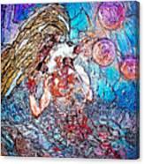 Cosmogony Ainu Canvas Print