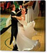 Dance Contest Nr 08 Canvas Print