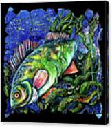 Dear Lord  Please Let Me Catch A Fish Canvas Print