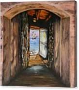 Door Of No Return Canvas Print