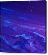 Earth Light Series Lights Off  Canvas Print