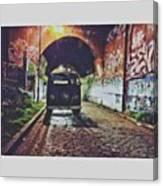 • Enjoy • • #wanderlust #wander Canvas Print