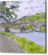 Ferry House Bridge Canvas Print