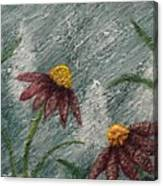 Flowers In The Breeze Canvas Print