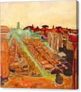 Foro Romano Canvas Print