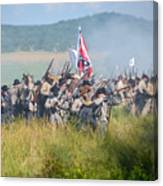 Gettysburg Confederate Infantry 9214c Canvas Print