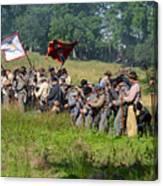 Gettysburg Confederate Infantry 9281c Canvas Print