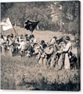 Gettysburg Confederate Infantry 9281s Canvas Print