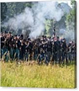 Gettysburg Union Infantry 9360c Canvas Print
