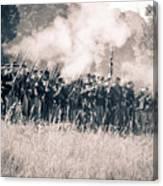 Gettysburg Union Infantry 9360s Canvas Print