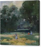 Haymakers Gotha Germany Canvas Print