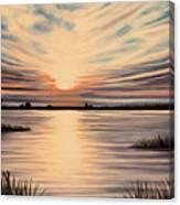 Highlights Of A Sunset Canvas Print